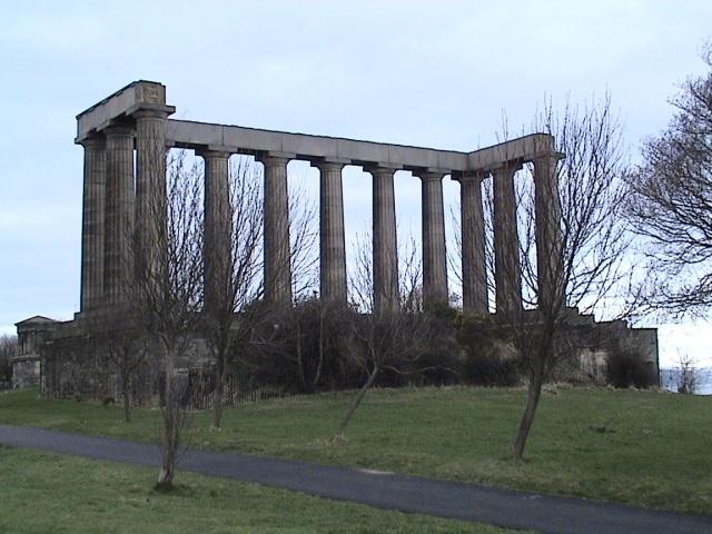 Climbing the surrounding hills in Edinburgh