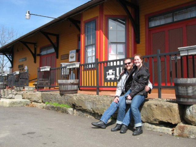 Brian and Heather at Unusual Junction
