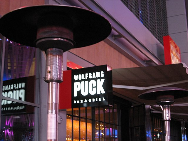 Delicious dinner at Wolfgang Puck's restaurant