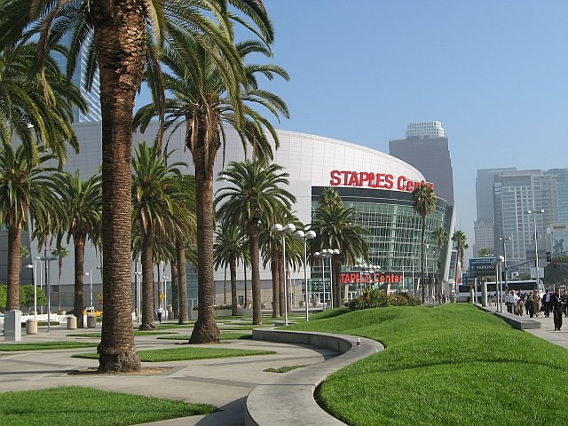 STAPLES Center and LA Live