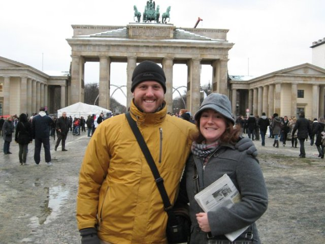 We went on a walking tour of Berlin on New Year's Day and learned a lot about the history pre-WWII and post.