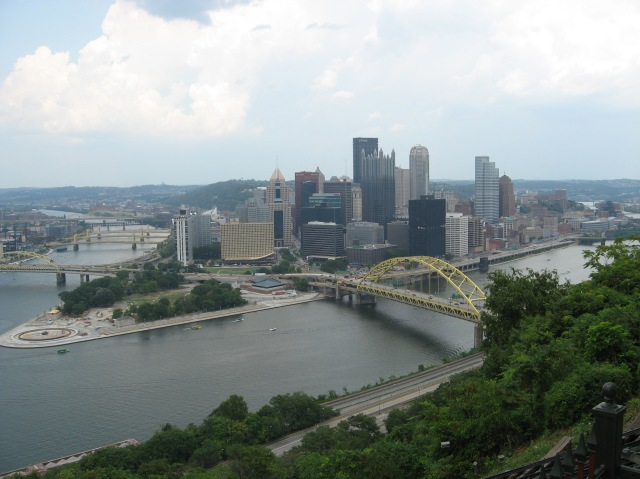 View of Pittsburgh from Mt. Washington
