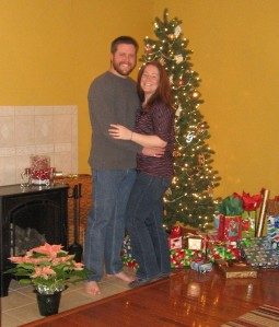 Heather and Brian, Christmas 2012