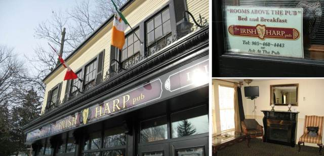 The Harp, an Irish pub run by some Northern Ireland natives, where we stayed and where Brian proposed