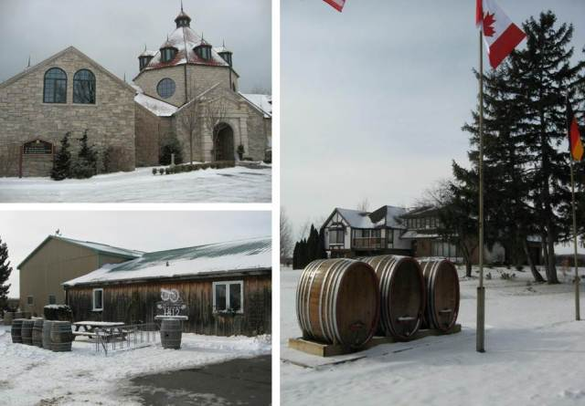 Snippet of the many wineries we visited at Niagara-on-the-Lake