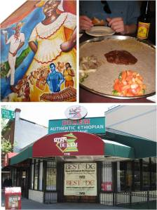 Our first time eating Ethiopian cuisine!