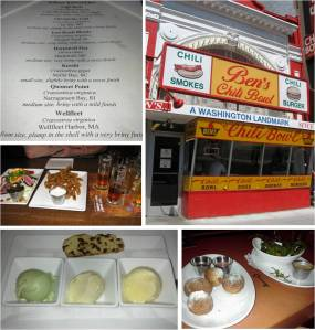 Array of other amazing stops, including Ben's Chili Bowl, Old Ebbitt Grille, Churchkey, Capitol Brewing Co., Chef Geoffs