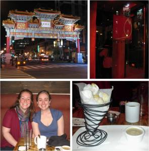 Chinatown for Matchbox, which was celebrating its anniversary and where we met up with Erin, who I studied abroad with and who I haven't seen in eight years!