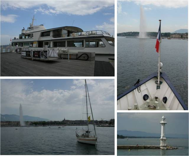 Took an hour-long boat ride around lake Geneva, seeing the water jet, the main parks and beaches and learning some of the city's history