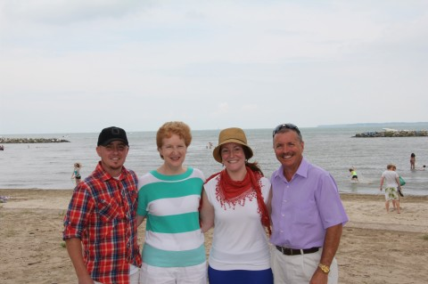 Scott, Mom, Me and Dad