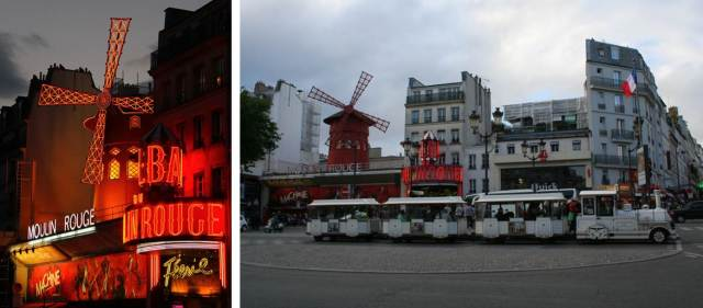 We ended our evening in the red light district to have dinner and see the Moulin Rouge in full form!