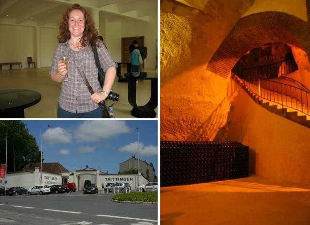 My champagne house tour at Tattinger-- cheers!