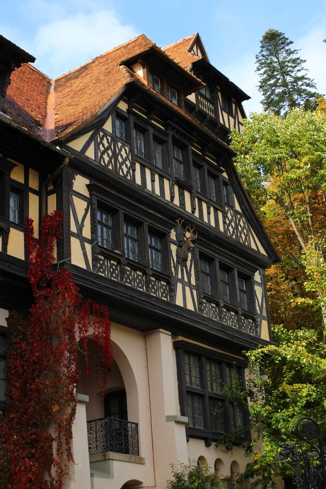 The nearby lodge where Peles Castle guests were sometimes asked to stay