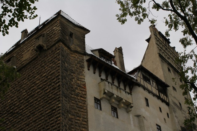 Unlike Peles Castle, which was a residence, Castle Bran was a military fortress so it was not decorated or very furnished