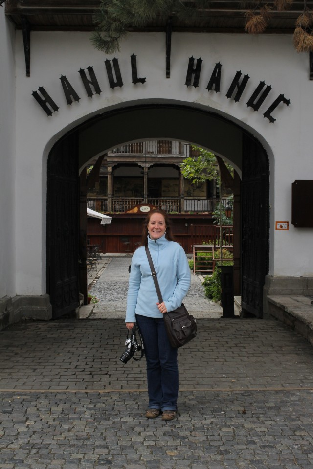 We ate lunch at Manuc's Inn, which was recommended for traditional Romanian cuisine and which is the oldest working inn and restaurant in the city