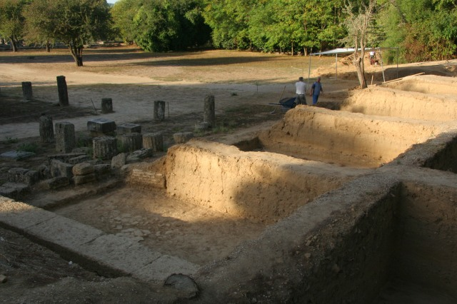The whole of Olympia is still being unearthed