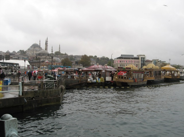 Post-cruise adventures along the Bosphorus