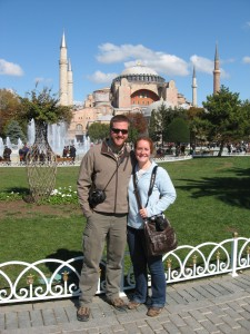 Lovebirds and the Hagia Sophia