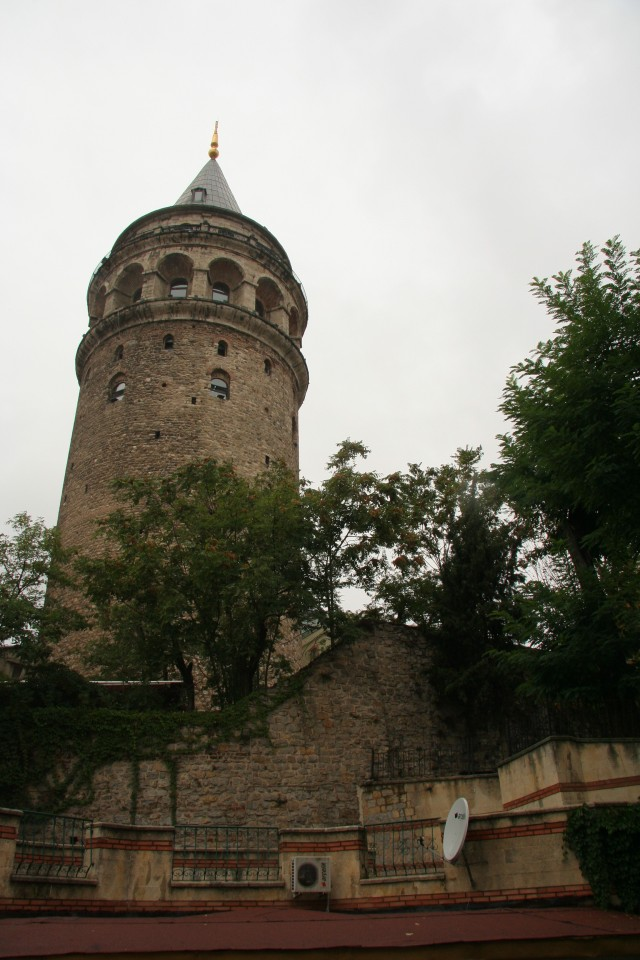 We trekked to the top of the Galata Tower for awesome views of the city