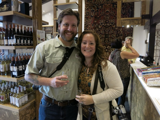 We took the Grape Escape wine tour to four local wineries to taste test