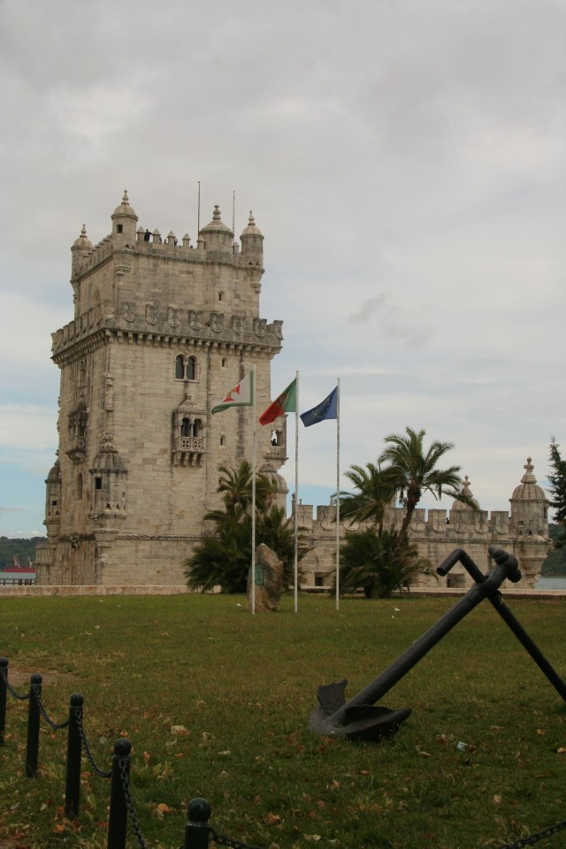 We ended our time in Belem at the Tower of Belem, which was accessible only by taking some small footbridges out into the river. We climbed to the top and then grabbed some photos from the riverside.