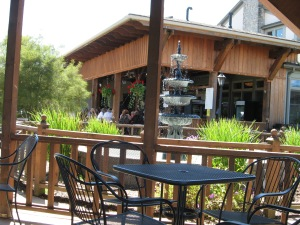 Patio at Ferrante