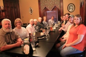 The last supper at the Corkscrew Saloon