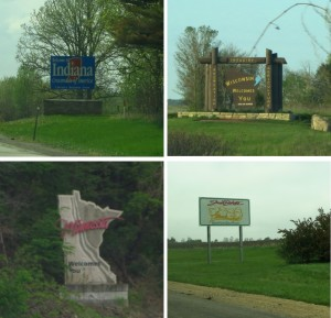 Apparently Illinois doesn't welcome you...